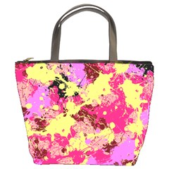 Abstract #11 Bucket Bags by Uniqued
