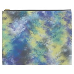 Abstract #17 Cosmetic Bag (XXXL)  by Uniqued