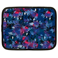 Abstract Floral #3 Netbook Case (xxl)  by Uniqued
