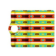 Rhombus Stripes And Other Shapes kindle Fire Hdx 8 9  Flip 360 Case by LalyLauraFLM