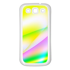 New 4 Samsung Galaxy S3 Back Case (white) by timelessartoncanvas