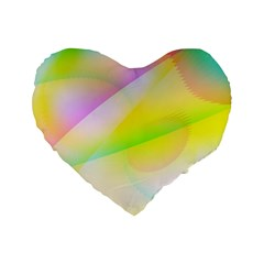 New 6 Standard 16  Premium Heart Shape Cushions by timelessartoncanvas