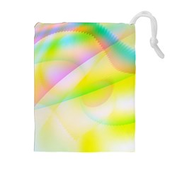 New 6 Drawstring Pouches (extra Large) by timelessartoncanvas