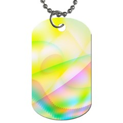 New 7 Dog Tag (two Sides) by timelessartoncanvas