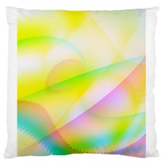 New 7 Large Flano Cushion Case (one Side) by timelessartoncanvas