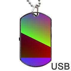 New 8 Dog Tag Usb Flash (one Side) by timelessartoncanvas