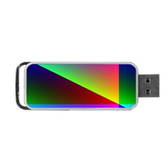 New 8 Portable Usb Flash (one Side) by timelessartoncanvas