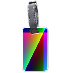 New 9 Luggage Tags (Two Sides) by timelessartoncanvas