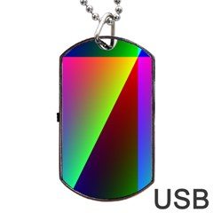 New 9 Dog Tag Usb Flash (one Side) by timelessartoncanvas