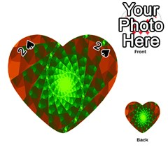 New 10 Playing Cards 54 (heart)  by timelessartoncanvas