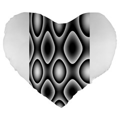 New 11 Large 19  Premium Flano Heart Shape Cushions by timelessartoncanvas