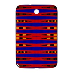 Bright Blue Red Yellow Mod Abstract Samsung Galaxy Note 8 0 N5100 Hardshell Case  by BrightVibesDesign