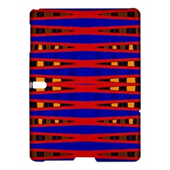 Bright Blue Red Yellow Mod Abstract Samsung Galaxy Tab S (10 5 ) Hardshell Case  by BrightVibesDesign