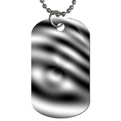 New 12 Dog Tag (one Side) by timelessartoncanvas