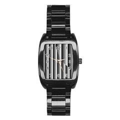 New 13 Stainless Steel Barrel Watch by timelessartoncanvas