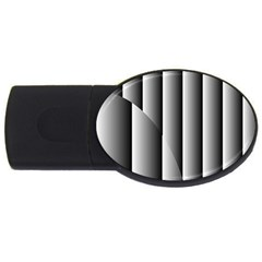 New 14 Usb Flash Drive Oval (2 Gb)  by timelessartoncanvas