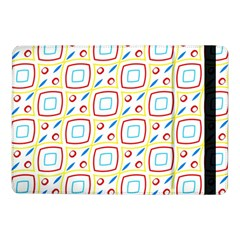 Squares Rhombus And Circles Pattern  			samsung Galaxy Tab Pro 10 1  Flip Case by LalyLauraFLM