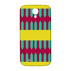 Stripes And Other Shapes   samsung Galaxy S4 I9500/i9505 Hardshell Back Case by LalyLauraFLM