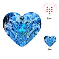 Medusa Metamorphosis Playing Cards (Heart)  by icarusismartdesigns