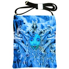 Medusa Metamorphosis Shoulder Sling Bags by icarusismartdesigns