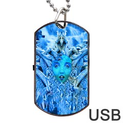 Medusa Metamorphosis Dog Tag Usb Flash (one Side) by icarusismartdesigns