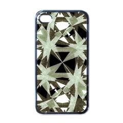 Modern Camo Print Apple Iphone 4 Case (black) by dflcprints