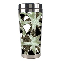 Modern Camo Print Stainless Steel Travel Tumblers by dflcprints