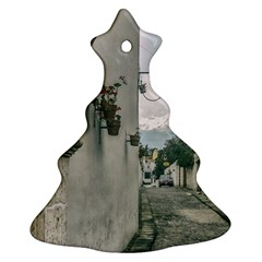 Colonial Street Of Arequipa City Peru Christmas Tree Ornament (2 Sides) by dflcprints