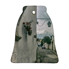 Colonial Street Of Arequipa City Peru Bell Ornament (2 Sides) by dflcprints