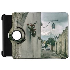 Colonial Street Of Arequipa City Peru Kindle Fire Hd Flip 360 Case by dflcprints