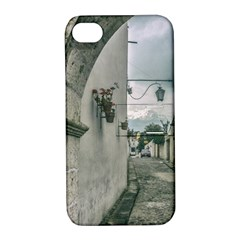 Colonial Street Of Arequipa City Peru Apple Iphone 4/4s Hardshell Case With Stand by dflcprints