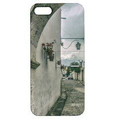 Colonial Street Of Arequipa City Peru Apple Iphone 5 Hardshell Case With Stand by dflcprints