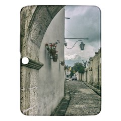 Colonial Street Of Arequipa City Peru Samsung Galaxy Tab 3 (10 1 ) P5200 Hardshell Case  by dflcprints
