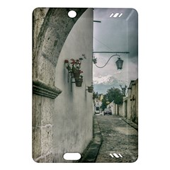 Colonial Street Of Arequipa City Peru Amazon Kindle Fire Hd (2013) Hardshell Case by dflcprints