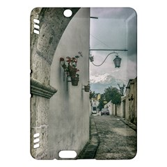 Colonial Street Of Arequipa City Peru Kindle Fire Hdx Hardshell Case by dflcprints