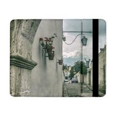 Colonial Street Of Arequipa City Peru Samsung Galaxy Tab Pro 8 4  Flip Case by dflcprints