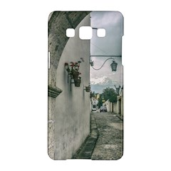 Colonial Street Of Arequipa City Peru Samsung Galaxy A5 Hardshell Case  by dflcprints