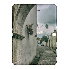 Colonial Street Of Arequipa City Peru Samsung Galaxy Tab 4 (10 1 ) Hardshell Case  by dflcprints