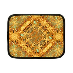 Digital Abstract Geometric Collage Netbook Case (Small)  by dflcprints