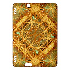 Digital Abstract Geometric Collage Kindle Fire Hdx Hardshell Case by dflcprints