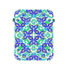 Stylized Floral Check Seamless Pattern Apple Ipad 2/3/4 Protective Soft Cases by dflcprints