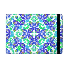Stylized Floral Check Seamless Pattern Ipad Mini 2 Flip Cases by dflcprints