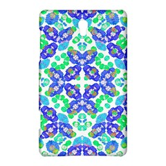 Stylized Floral Check Seamless Pattern Samsung Galaxy Tab S (8 4 ) Hardshell Case  by dflcprints