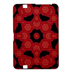 Stylized Floral Check Kindle Fire Hd 8 9  by dflcprints