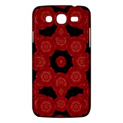 Stylized Floral Check Samsung Galaxy Mega 5 8 I9152 Hardshell Case  by dflcprints
