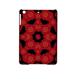 Stylized Floral Check Ipad Mini 2 Hardshell Cases by dflcprints