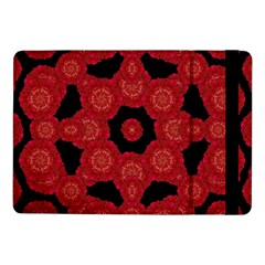 Stylized Floral Check Samsung Galaxy Tab Pro 10 1  Flip Case by dflcprints