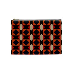 Rhombus and stripes      Cosmetic Bag by LalyLauraFLM