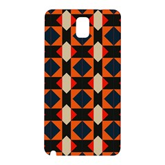 Rhombus And Stripes      			samsung Galaxy Note 3 N9005 Hardshell Back Case by LalyLauraFLM