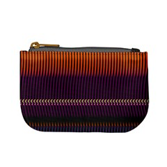 Curvy Stripes       	mini Coin Purse by LalyLauraFLM